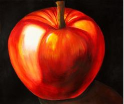 """Apple"" Acrylic 30"" x 28"""