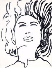 """Energetic Spirit"" Acrylic Art Dimensions: 11"" x 14"""