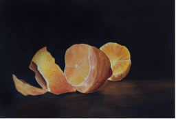"""Lemons"" Watercolor 19"" x 14"""