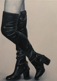 """These Boots are Made for Walking"" 9 x 12"