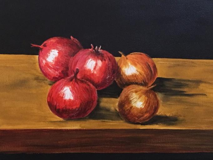 """Onions"" 20 x 25"