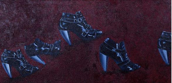 """""""Runway"""" Acrylic 24 x 12"""