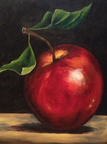 """Delicious Red"" 30 x 40"